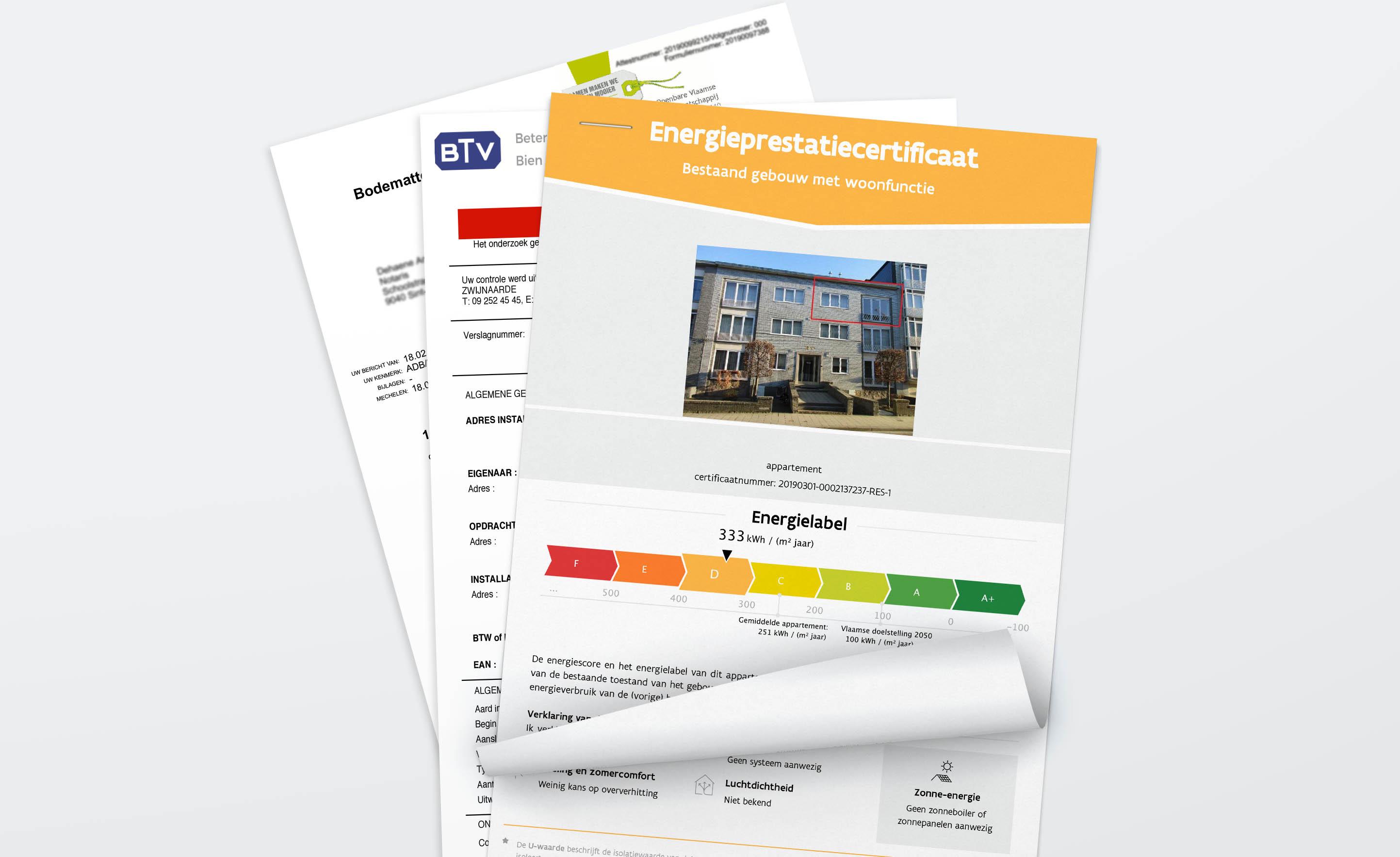 Welke attesten en documenten heb je nodig bij verkoop?